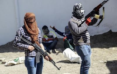 Diyarbakır Bismil -YGGH'li militanlar