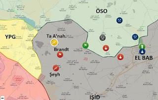 Suriye Halep kuzeyinde son durum