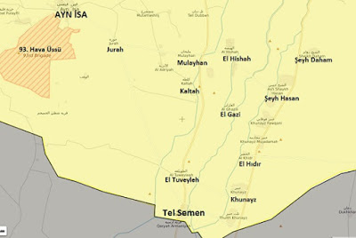Rakka'da son durum harita canli