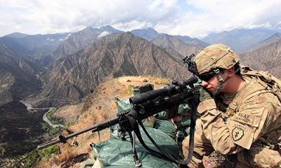 Afganistan'da çıkan çatışmada, 1 ABD askeri öldü, 4 asker yaralandı.