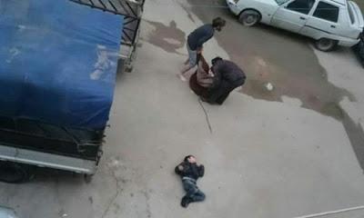 Suriye'de rejim güçleri Doğu Guta'da zehirli gazlı saldırı düzenledi.