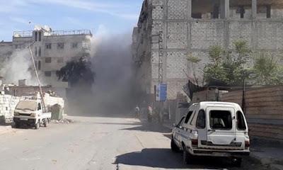 Suriye'de 7 İran askerinin öldürüldüğü bildirildi.