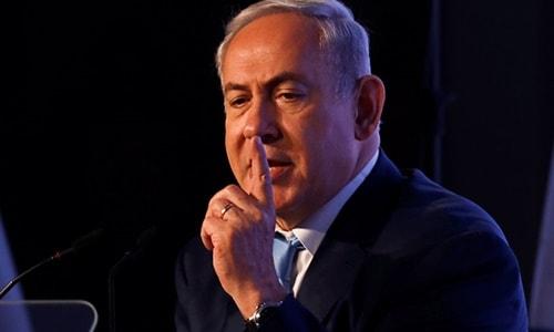 İsrail Başbakanı Netanyahu, Suriye'ye ait olan Golan Tepeleri'nin İsrail'in elinde kalacağını söyledi.