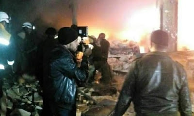 Rus ve rejim saldırılarının yoğunlaştığı Doğu Gota ve İdlib'te ölü sayısı 180'i geçti