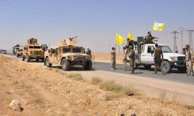 YPG, ABD'nin kontrolündeki Deyrezzor'dan çekiliyor.