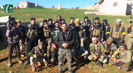 Özgür Suriye ordusu Afrin Raco bölgesinde