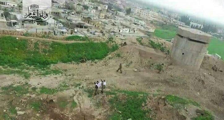 Cinderes son durum: ÖSO bazı YPG hatlarını kontrol etmiş görünüyor.