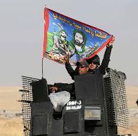 Musul'da son durum Şii Haşdi Şabi milisleri