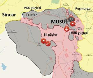 Irak Musul'da son durum