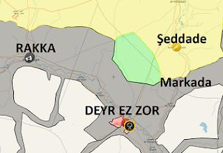 Deyr Ez Zor son durum harita