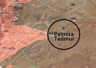 Suriye palmira'da son durum