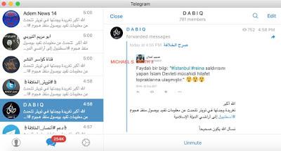 IŞİD TELEGRAM