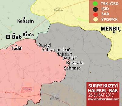 Menbiç'te son durum YPG