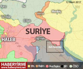 Suriye haritası son durum, suriye'de son durum