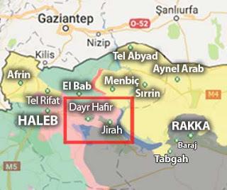 Suriye son durum harita