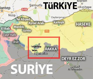 Suriye son durum harita (Nisan 2017)