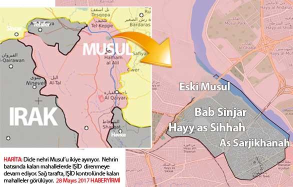Msul son durum harita