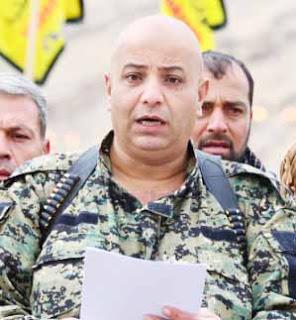 Suriye Demokratik Güçleri (SDG) Sözcüsü Talal Silo