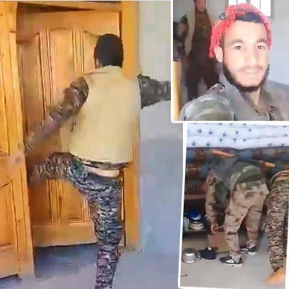 YPG Rakka son durum YPG yağma
