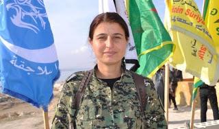 SDF sözcüsü Jihan Sheikh Ahmad