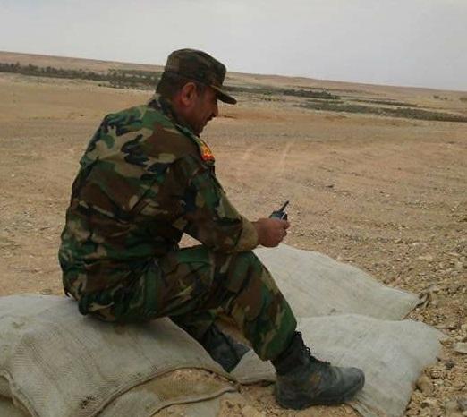 Humus Doğu Cephesi Tugay Komutanı Tuğgeneral Fuad Kadir