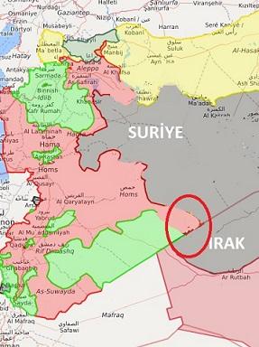Suriye son durum harita 10 Haziran 2017