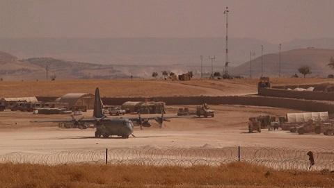 ABD'nin Suriye'deki üsleri