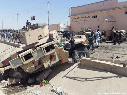 Helmand vilayetinin merkezi Laşkargah