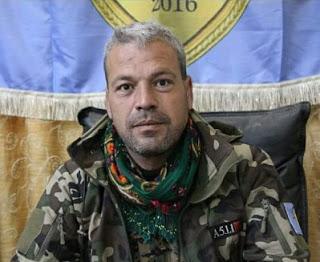 Menbiç Askeri Konseyi komutanı Adnan Abu Amjad öldürüldü
