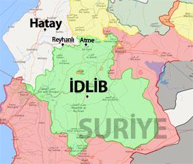 İdlib son durum harita
