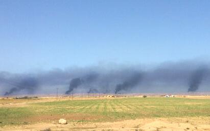 Irak son durum: Kerkük/Havice ilçe sınırı. 30 Eylül 20017