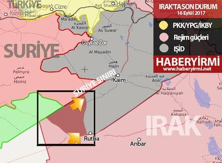Irak son durum haritası: