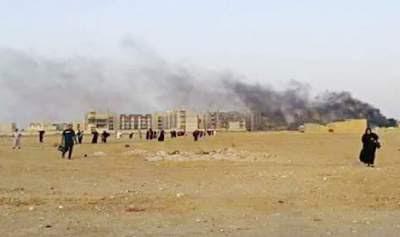 Ramadi merkez. IŞİD baskını - 27 Eylül 2017 sabah