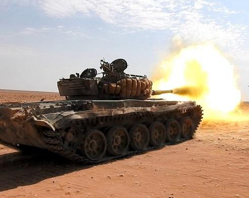 Suriye Humus Humaymah'da IŞİD güçleri