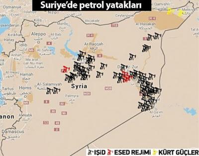 Suriye-petrol yataklari