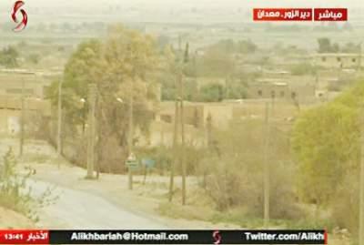 Deyrizor kuzeyi Ma'adan rejim güçlerinde.