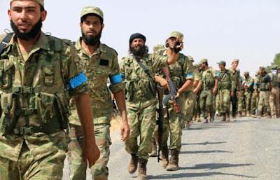 Ahrar-u Şam savaşçıları