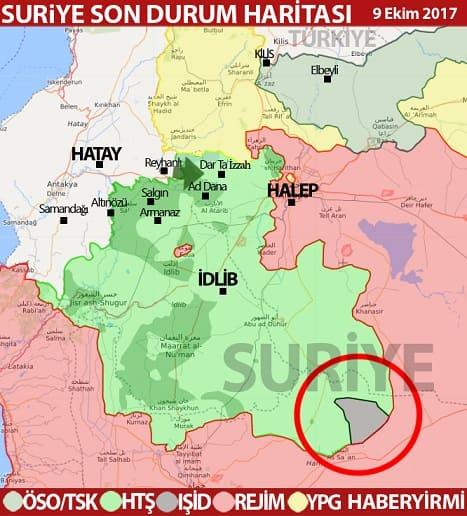 İdlib merkez harita-ekim-2017