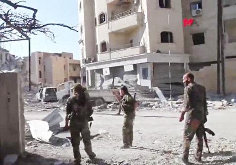 Rakka'da son durum 14 Ekim 2017