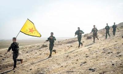 Türkiye'nin Suriye'nin Afrin kentine yönelik hazırlığı sürerken PYD'de çıkış yolu arıyor. Türk jetleri Afrin semalarında keşif uçuşu yaparken PYD'liler tünellere kaçıyor.