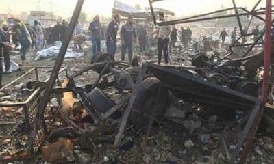 Irak'ın Şii Türmenkenti olan Tuzhurmatu'da  düzenlenen bombalı saldırıda 32 kişi öldü 75 kişi de yaralandı.