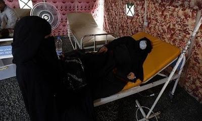 Yemen'de kolera salgınında ölenlerin sayısı korkutucu boyutlara ulaştı.