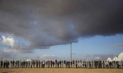 İsrail yönetimi , kabul ettiği her mülteci başına Ruanda'ya 5bin dolar ödemeyi kabul etti.