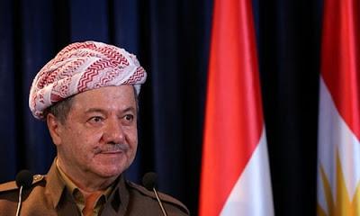 """Eski Irak Kürt Bölgesel Yönetimi (IKBY) Başkanı Mesud Barzani, """"Referandum Kürt milletinin geleceğini garanti altına aldı"""" dedi."""