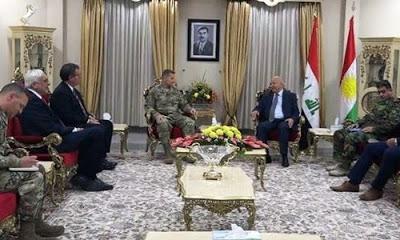 ABD 2018 yılında Irak Kürt Bölgesel Yönetimi (IKBY) Peşmerge Bakanlığı'na 364 milyon dolar ödeme yapacak.