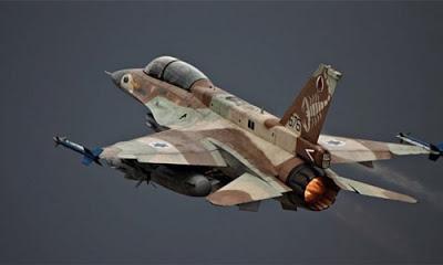 İsrail,  Suriye'nin başkenti Şam'da bulunan İran askeri üssüne saldırı düzenledi.  Saldırıya İran anında karşılık verdi.