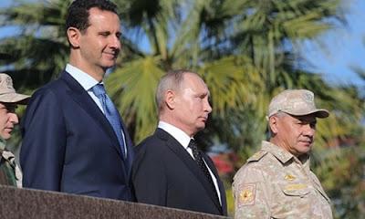 Putin, Rus güçlerinin Suriye'de daimi noktalarına çekilmeleri için emir verdi.