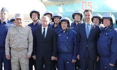 Kremlin Sözcüsü Dmitriy Peskov, Suriye'de gerekirse teröristleri yine vurulacağını söyledi.