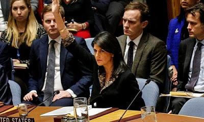 ABD'nin Birleşmiş Milletler (BM) Daimi Temsilcisi Nikki Haley BM Genel Kurulu'nda yapılacak olan oylama öncesi diplomatları Kudüs konusunda üstü kapalı tehdit etti.