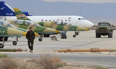 Hama kenti yakınlarında rejim güçlerine ait savaş uçağı düşürüldü.